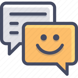 chat, comment, communication, conversation, letter, mail, message icon