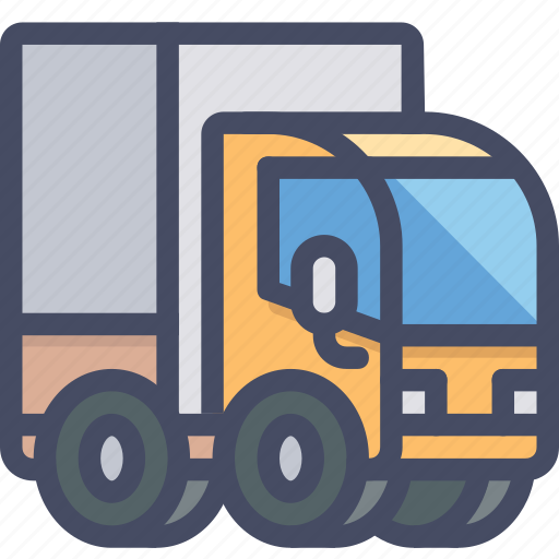 car, delivery, ecommerce, shipping, transport, transportation, truck icon