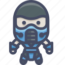 character, fighter, mortalkombat, subzero icon