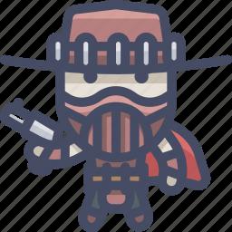 erronblack, fight, mortalkombat icon