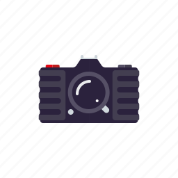 camera, camping, dslr, equipment, outdoors, photography icon
