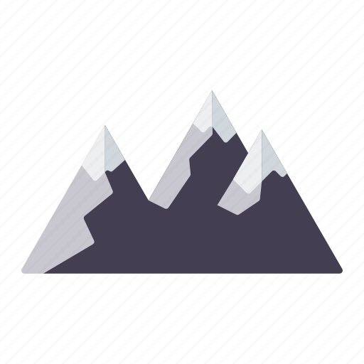 camping, equipment, landscape, mountain range, mountains, outdoors icon