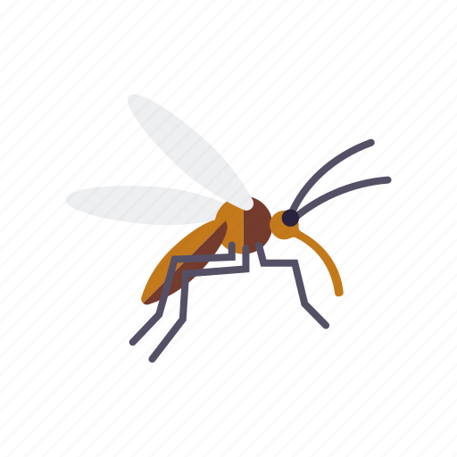 camping, equipment, insect, mosquito, outdoors, plague icon