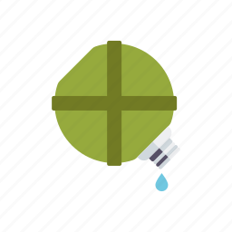 bottle, camping, canteen, equipment, outdoors, water icon