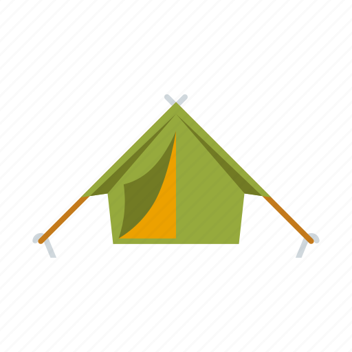 camping, equipment, outdoors, shelter, tent icon
