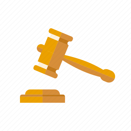 crime, gavel, hammer, judgment, justice, law icon
