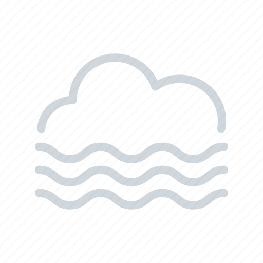climate, fog, haze, meteorology, weather icon