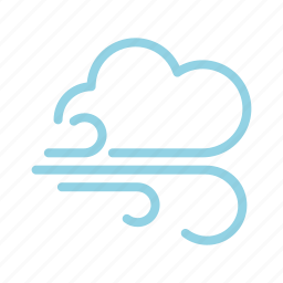 breeze, climate, meteorology, storm, weather, wind icon