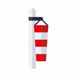 calm, climate, doldrums, meteorology, weather, windsock icon