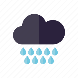 climate, cloud, meteorology, rain, rainy, storm, weather icon