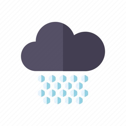 climate, cloud, hail, meteorology, storm, weather icon