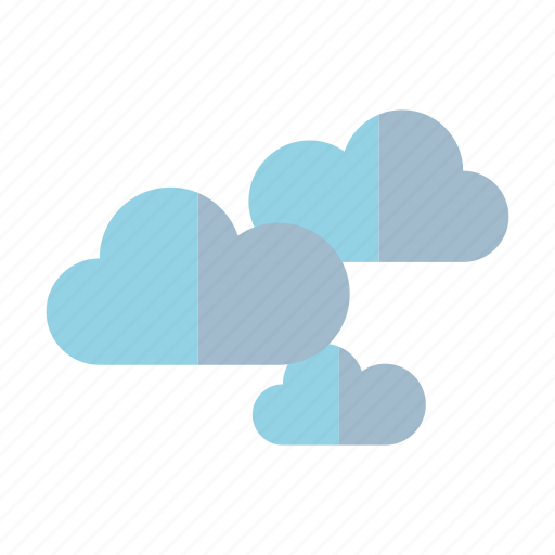 climate, clouds, meteorology, overcast, weather icon
