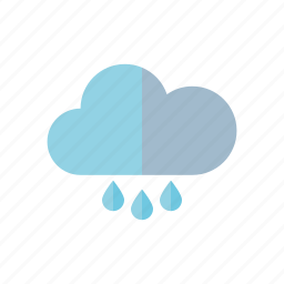 climate, cloud, meteorology, rain, raindrop, weather icon