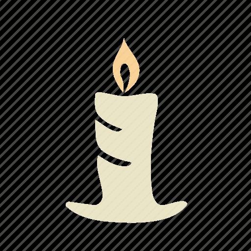 2b, candle, light, xmas icon
