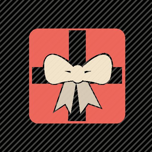 bell, icons, present, xmas icon