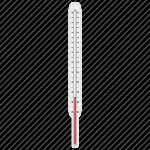 cold, fever, sick, temperatur, thermometer, warm icon