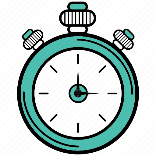 alarm, counting, office, stopwatch, time icon