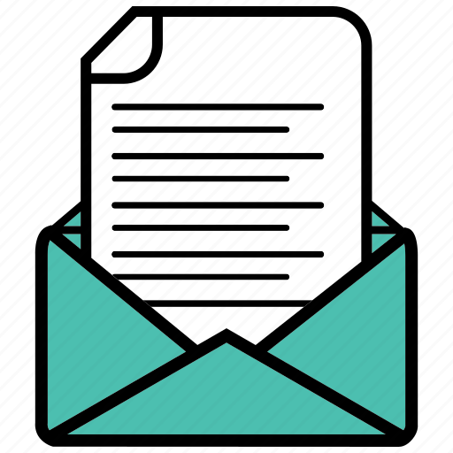 contract, conversation, envelope, letter, mailing, office icon