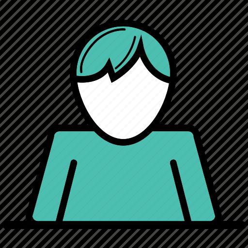business man, figure, office, work, worker icon