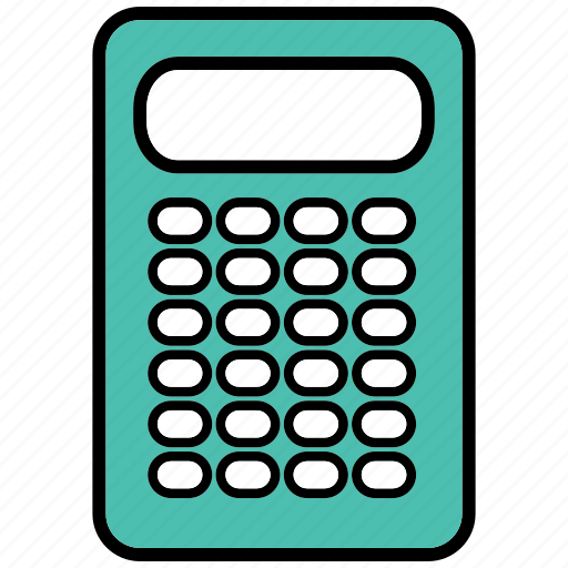 calculator, finance, maths, numbers icon