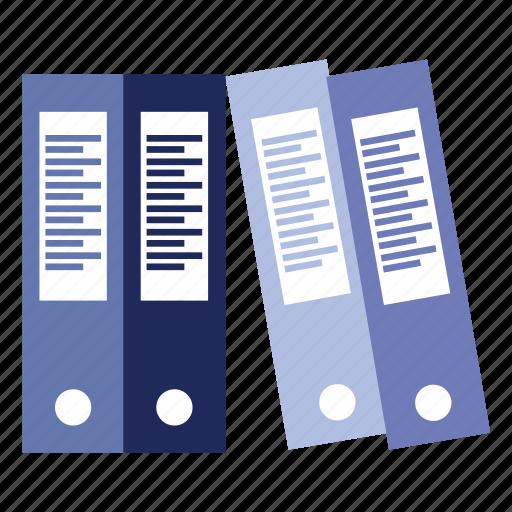 binder, files, folder, office, organice, work icon