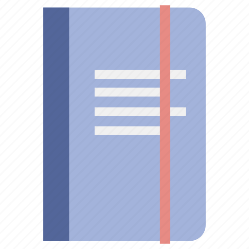 book, note, notebook, office, work, writing icon