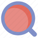 loupe, research, search, website icon