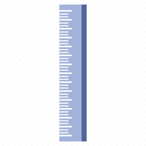 drawing, line, messuring, office, ruler, straight, work icon