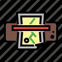 equipment, laminating, laminator, machine, office icon