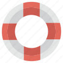 boat, lifesaver, swimming, vaction, warm, water icon