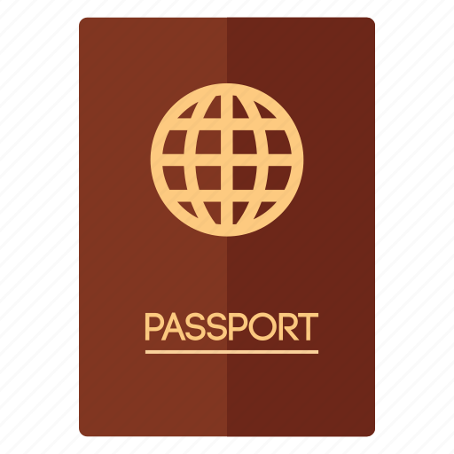 adventure, id, passport, traveling, vaction icon