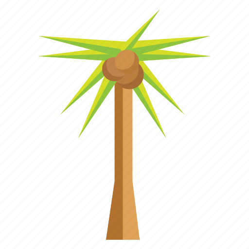 adventure, beach, coconut, holidays, palm, vacation icon
