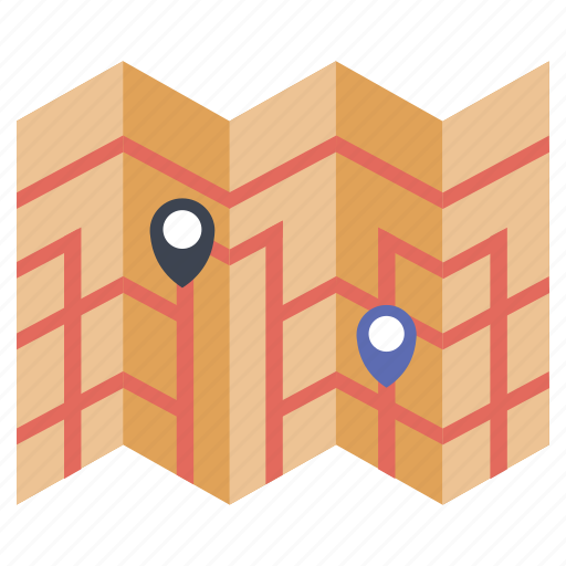 adventure, direction, holidays, map, travel, vaction icon