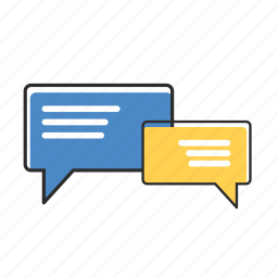 bubble, chat, comments, email, message, speech, talk icon