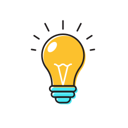 bulb, idea, idea bulb, light bulb icon