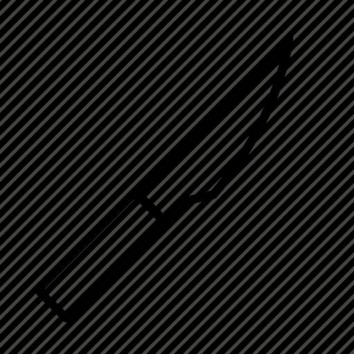 blade, knife, metal, sharp, steel, tool icon