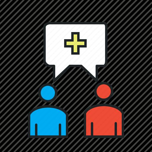 add, collaborate, invitation, invite, join, together, unite icon
