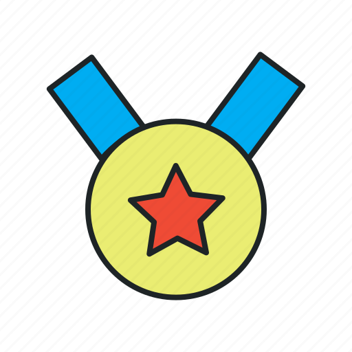 achieve, certified, grant, medal, membership, motivation, quality, reward, success, winner icon