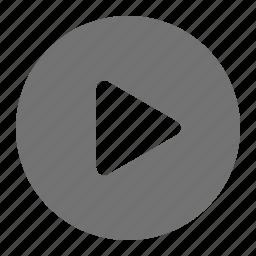 clip, media, movie, play, start, stream, video icon