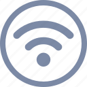 computer, connection, internet, mobile, network, signal, wifi icon