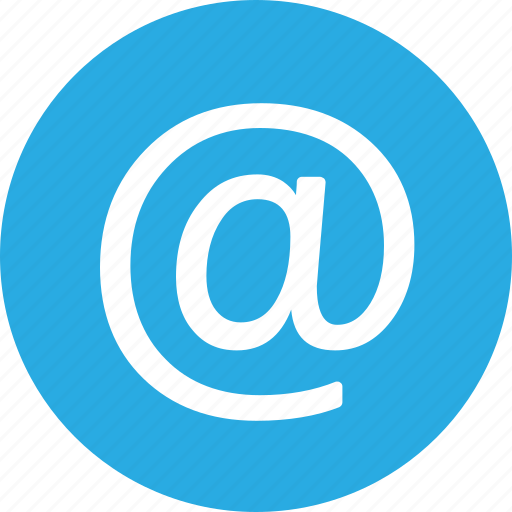 Address, at, contact, email, mail, sign icon - Download on Iconfinder