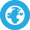earth, global, globe, map, planet, travel, world icon