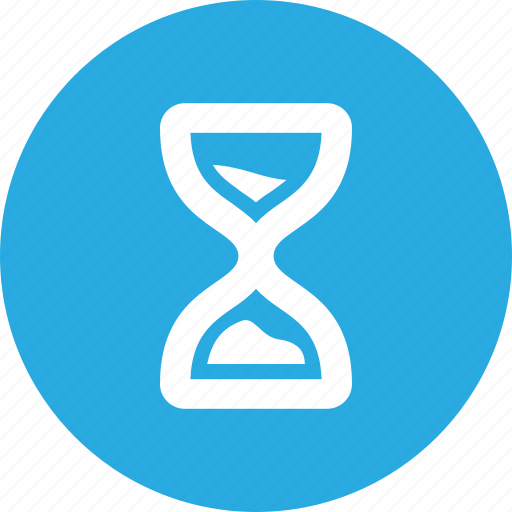 clock, countdown, hour, hourglass, instrument, measurement, timer icon