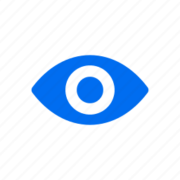eye, look, see, show, view, views icon