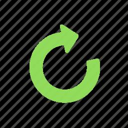 redo, refresh, reload, sync, update icon