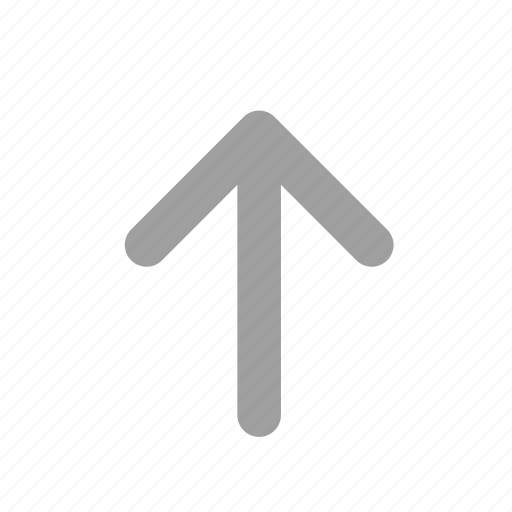 direction, long arrow, navigation, up, up arrow, upload icon