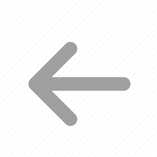 direction, left, left arrow, long arrow, navigation icon
