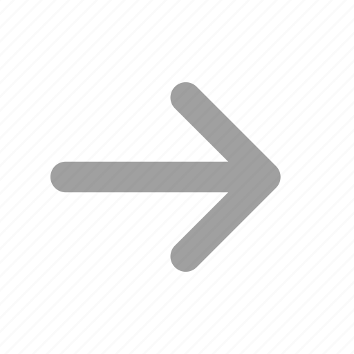 arrow, direction, long arrow, navigation, right, right arrow icon