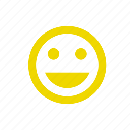 emoticons, happy, laugh, satisification, smile, smiley icon