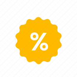 coupon, discount, offer, percent, percentage, sale icon